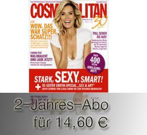 Cosmopolitan 2 Jahre lesen ab 14,60 Euro