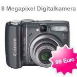 Digitalkamera Canon PowerShot A590 für 99 Euro
