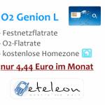 Festnetz- und O2-Flatrate für 4,44 €/Monat