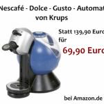 KRUPS: Nescafe-Dolce-Gusto-Automat für 69,90 €
