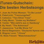 iTunes-Gutschein: Die 10 besten Herbstsongs gratis!