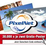 Pixelnet: 20-Euro-Gutschein für Fotos, Poster, usw.!