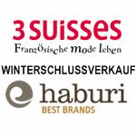 WSV bei 3 Suisses und Haburi – bis 60% Rabatt!
