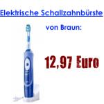 Braun Oral-B Vitality Sonic: Zahnbürste für 12,97 €